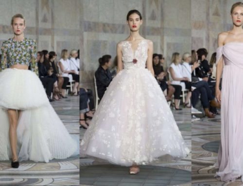 Giambattista Valli Haute-couture autunno inverno 2018 a Parigi è favola made in italy